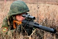 Picture Vintorez, army, soldiers, sniper, rifle