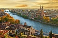Picture river, Italy, bridge, Italy, the city, the urban landscape, a city, city landscape, a building, ...