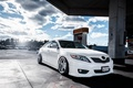 Picture dressing, white, camry, toyota, Camry, white, stance, Toyota