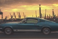 Picture Germany, port, Ford Mustang, Hamburg, Germany, Hamburg