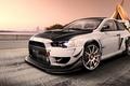 Picture road, Mitsubishi Lancer, Virtual Tuning