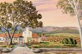 Picture painting, picture, painting, Ranch-Rabbits Ojai-, Barbara Thomas