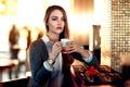 Picture Golden Time Tea, girl, Alessandro Di Cicco
