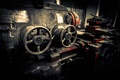 Picture gears, metal, engine, valves