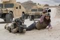 Picture reporter, m16, combat, Pakistan, desert, brunette, military, weapon, gun, pistol, machine gun, Afghanistan, film, cinema, ...