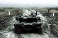 Picture lights, dirt, tank, combat, T-80, main