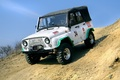 Picture jeep, UAZ, winch, slope, sport, sand, off road, TR-1, SUV