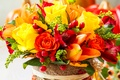 Picture flowers, bouquet, photo, alstremeria, roses, tulips