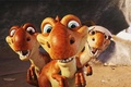 Picture ice age, Ice Age, dinosaurs, cartoon