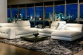 Picture white, night, design, style, room, sofa, carpet, furniture, Windows, interior, pillow