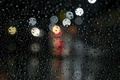 Picture bokeh, macro, glass, water, rain, drops