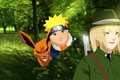 Picture hero, Naruto, oriental, biakugou, jinchuuriki, nanadaime, asiatic, weapon, gun, genin, asian, Hiouri-Nin, shinobi, Senju Tsunade, ...