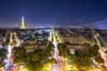 Picture Eiffel tower, France, France, street, Paris, Eifel tower, boulevards, city, lights, the city, Paris, night