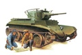 Picture easy, figure, BT-7, tank, tankers, Soviet