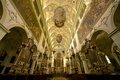 Picture Austria, Church, mural, religion, the monastery, painting, Salzburg, the nave, St. Peter's Abbey
