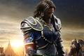 Picture Anduin Lothar, battlefield, king, Warcraft, combat, Travis Fimmel, medieval, sky, film, cinema, cloud, fight, Duncan ...
