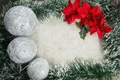 Picture flowers, New Year, Merry, decoration, Christmas, Christmas, balls, decoration