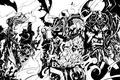 Picture darksiders, war, death, rage, strife, discord, the horsemen of the Apocalypse, the Nephilim, death, war, ...