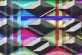 Picture Rainbow, red, colorful, zero, red, stripes, orange, yellow, shadow, blue, black, orange, grey, yellow, Wallpaper