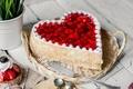 Picture strawberry, cake, cream, dessert