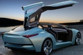 Picture the sky, open doors, machine, Concept, the gullwings, Buick, Riviera