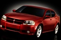 Picture vector, Dodge, sedan, Avenger