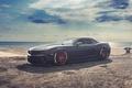 Picture supercar, beach, Chevrolet Camaro