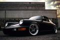Picture 911, Porsche, black, front, 964, Carrera 2