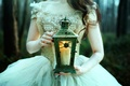Picture girl, In the Twilight hours, candle, lantern, Bella Kotak