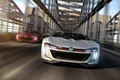 Picture car, Roadster, concept, Volkswagen, in motion, render, GTI