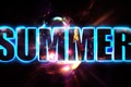 Picture text, text, glow, summer, Summer, glow