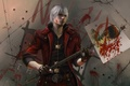 Picture weapons, game wallpapers, game, Devil may cry 5, new version, Wallpaper, sword-transformer, nextgen, Dante, DMC, ...