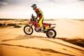 Picture sand, desert, honda, bike, dakar