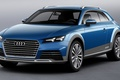 Picture concept, audi, allroad, brake, shooting