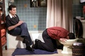 Picture the series, actors, characters, Charlie Sheen, John Cryer, Charlie Harper, Alan Harper, Two and a ...