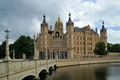 Picture bridge, Germany, Schwerin castle, The Palace island