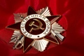 Picture red, awards, Order of the Patriotic war, May 9, victory day