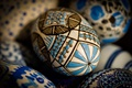 Picture eggs, holiday, macro