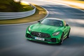 Picture Mercedes-Benz, Green, Car, AMG, 2016, GT, R, (C190)