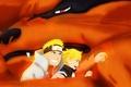 Picture game, anime, hokage, Konoha, Naruto, Naruto Uzumaki, hitaiate, oriental, jinchuuriki, Kurama, Cla Uzumaki, asiatic, kunai, ...