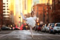 Picture street, dance, girl, ballerina, tiny dancer