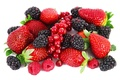 Picture berries, raspberry, red currant, BlackBerry, strawberry