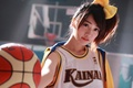 Picture the ball, girl, sports uniforms