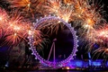 Picture paint, light, holiday, wheel, fireworks, salute, lights, building