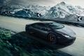 Picture Lamborghini, Speed, Black, Mountain, Road, Supercar, Huracan, LP640-4
