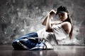 Picture girl, style, movement, sport, dance, dance