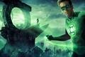 Picture space, stars, planet, monsters, Ryan Reynolds, superhero, Green Lantern, Green Lantern, Ryan Reynolds