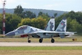 Picture painting, Su-30, multi-role fighter, The Russian air force, MKИ, Hull number 02, double room