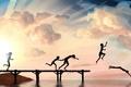 Picture sea, summer, the sky, joy, children, river, background, mood, Wallpaper, figure, pierce, art. picture, diving