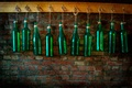 Picture bar, texture, wall, bottle